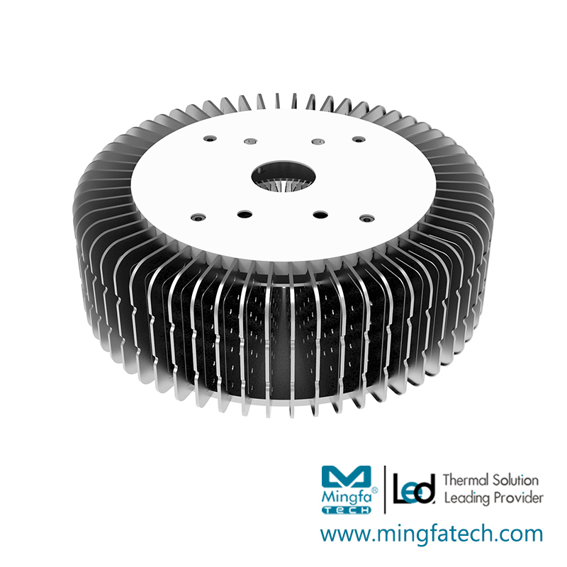 HibayLED-24088 AL1070 fastening heat sink