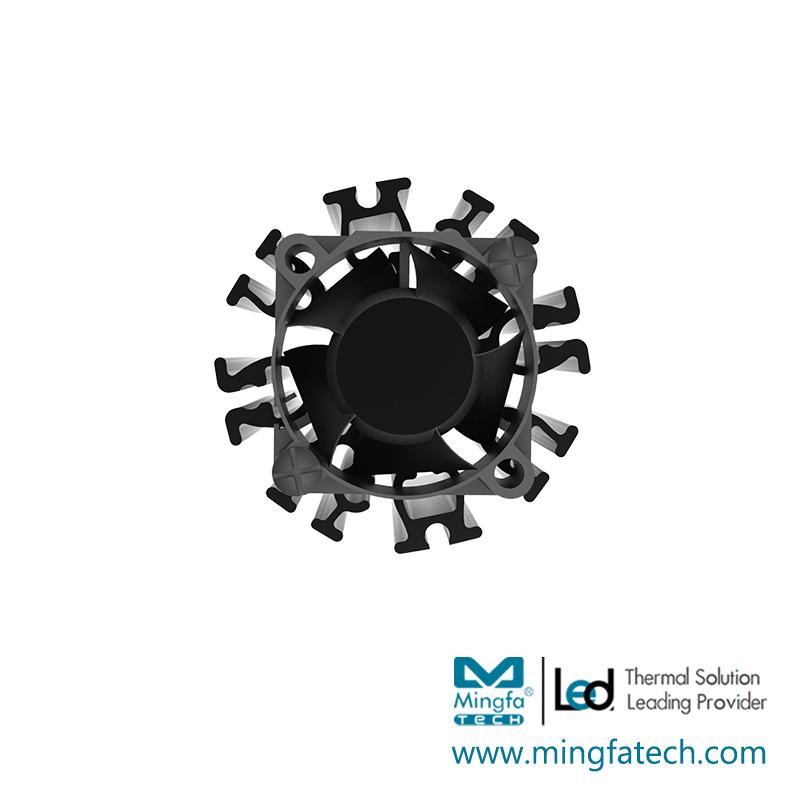 Mingfa Tech-aluminum Custom heatsink extruded Mingfa Tech extrusion-MingfaTech Manufacturing