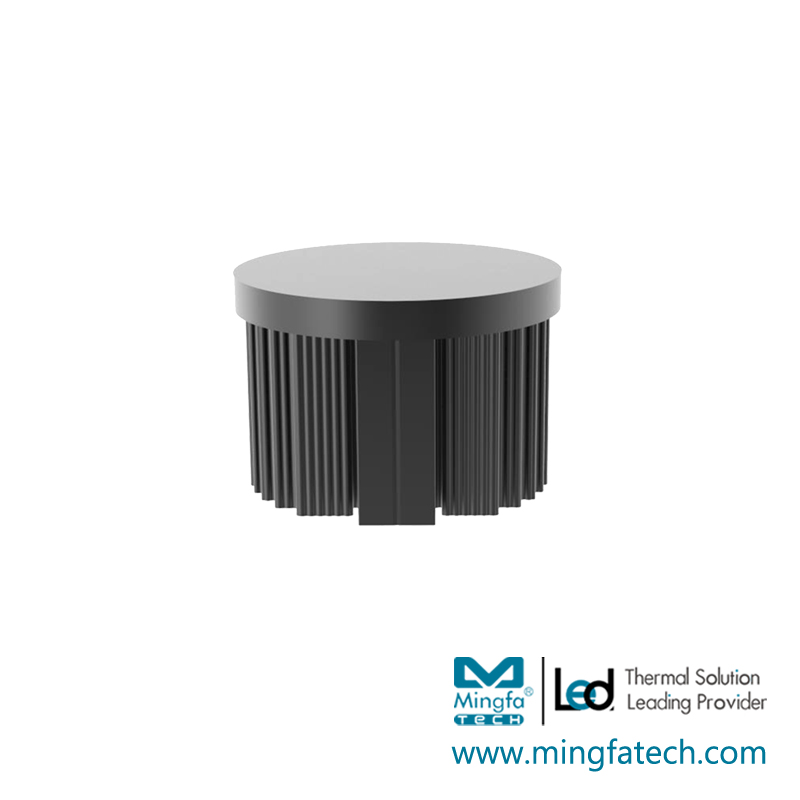 Mingfa Tech-Best Round Heat Sink Xled-453045504568 Passive Cold Forging Pin Fin Coolers-1