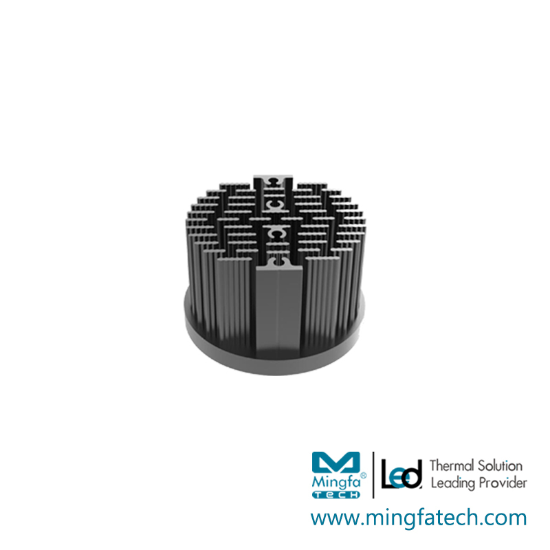 xLED-4530/4550/4568 passive cold forging pin fin coolers