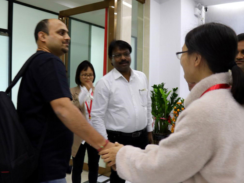 Mingfa Tech welcomed Indian customers with enthusiasm