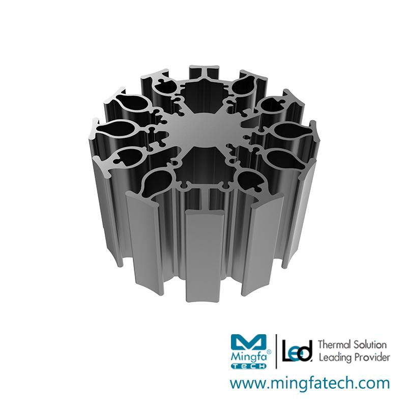 FanLED-8520/8550/8580  led passive heatsink cob heat sink