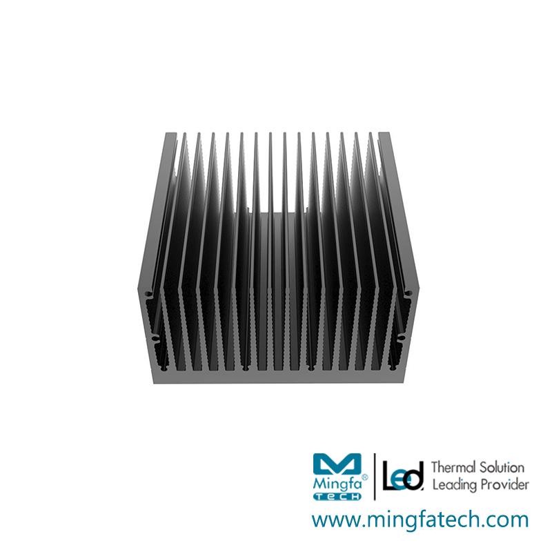 tLED-92×90×30/92×90×50 square heat sink extruded aluminium heatsink