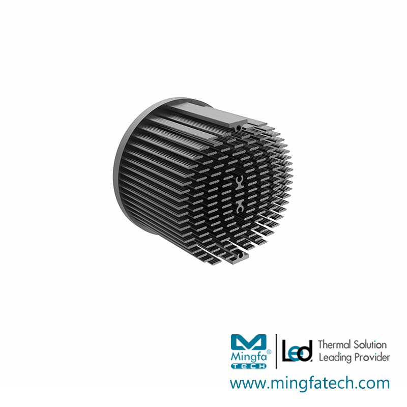 xLED-7030/7050 cold forging led passive heatsink
