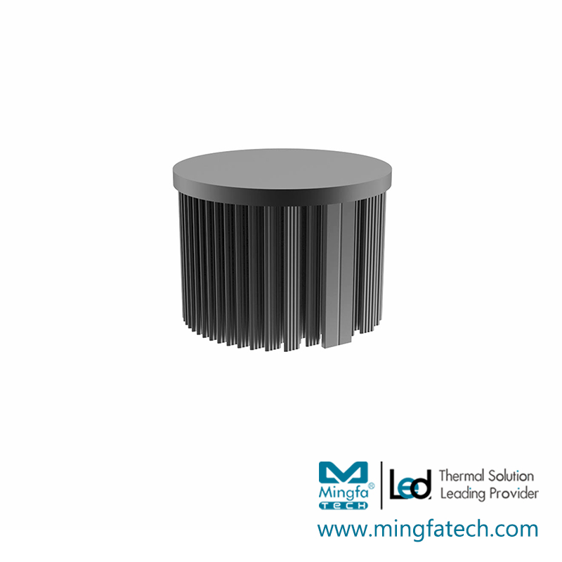 Mingfa Tech-Round Heat Sink Manufacture | Xled-70307050 Cold Forging Led Passive Heatsink
