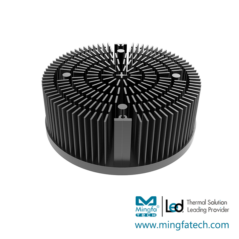 xLED-16530/16560/165100 LED heat sink AL1070 pin fin coolers