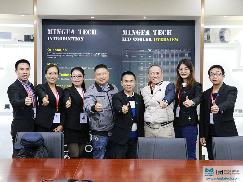 Mingfa Tech attracts customers with their strength