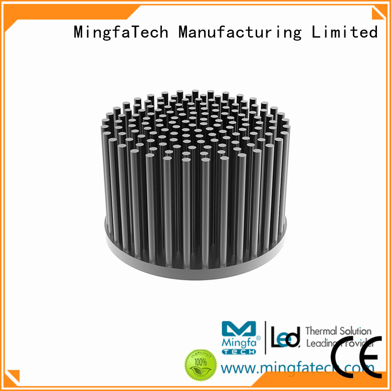 Mingfa Tech Brand cold forging fin round thermal heat sink