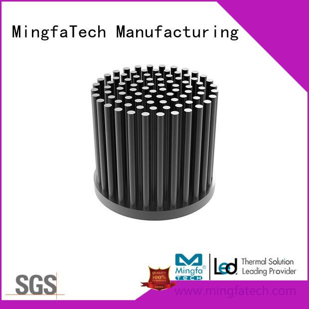 cob cold aluminum thermal heat sink Mingfa Tech
