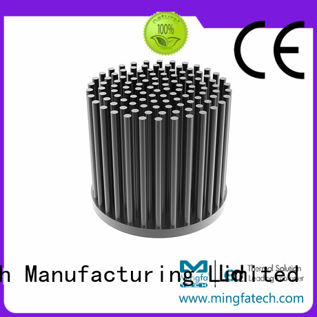 led light heat sink extruded aluminium pin thermal heat sink manufacture